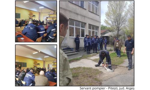 Servant Pompier – Pitești, jud. Argeș
