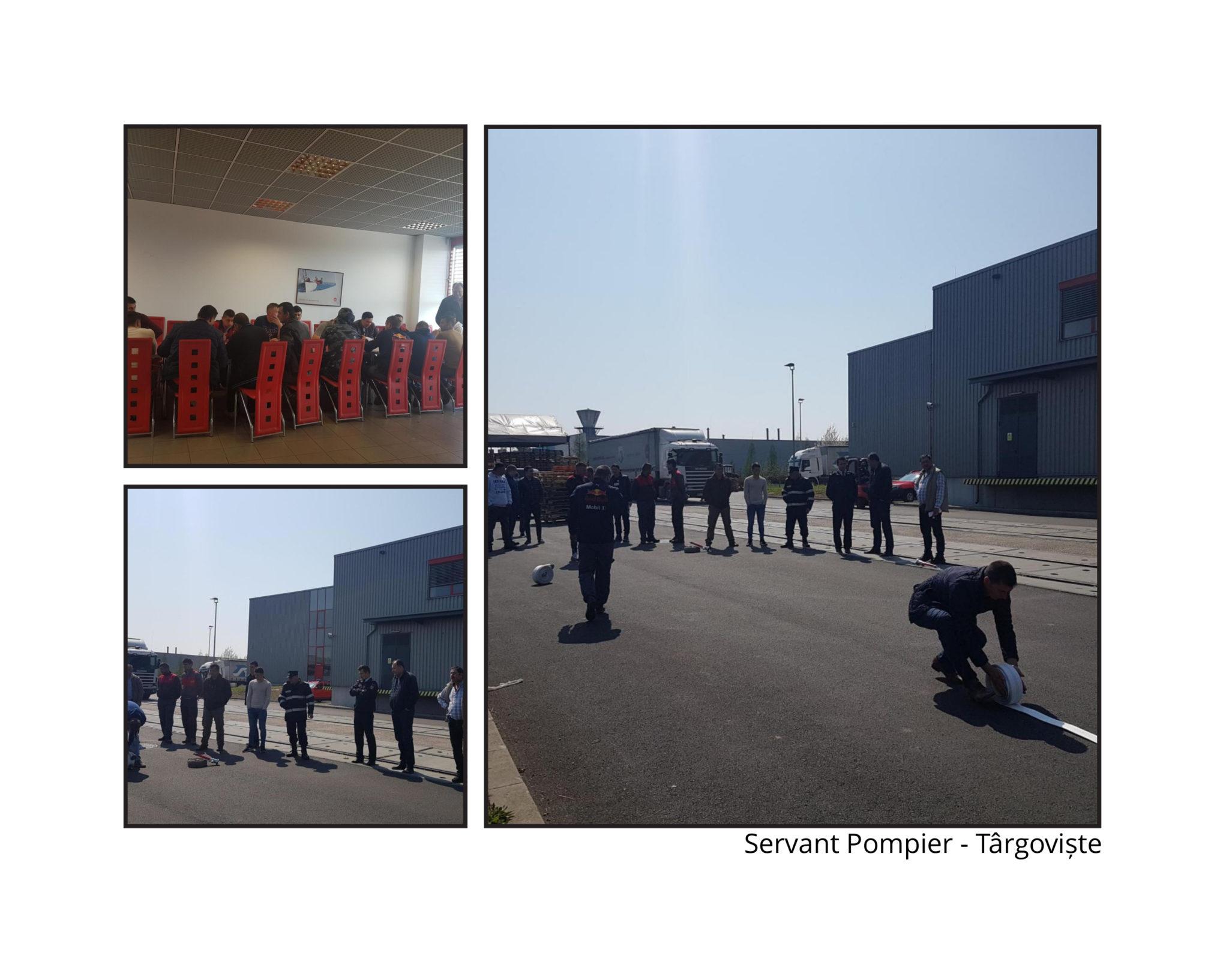 Servant pompier – Târgoviște, jud. Dâmbovița